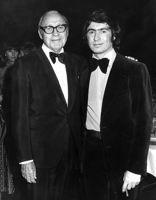 David Steinberg with Jack Benny
