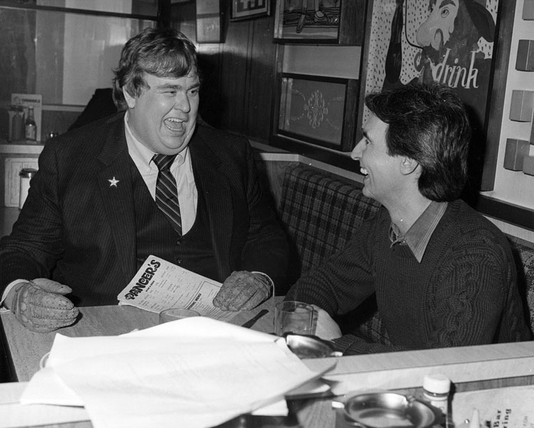David Steinberg with John Candy in My Dinner with Duddy