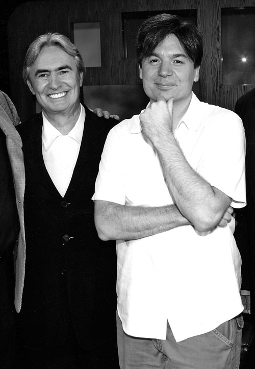 David Steinberg with Mike Myers