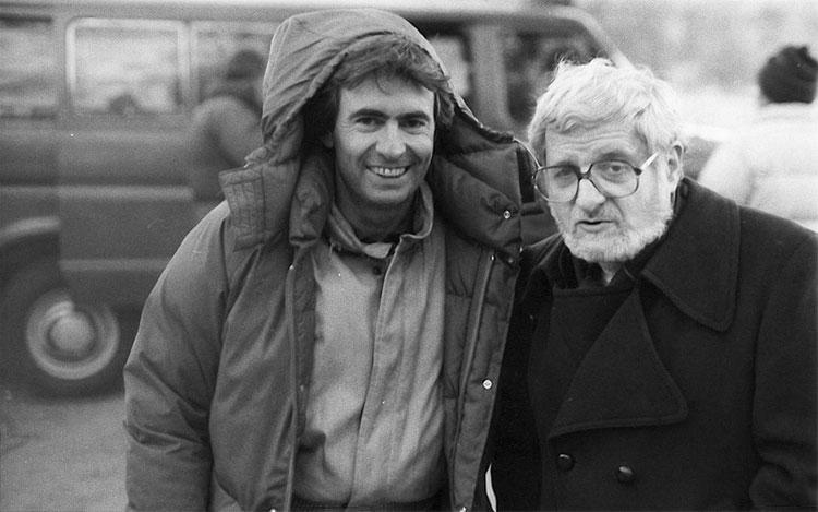 David Steinberg with Paddy Chayefsky