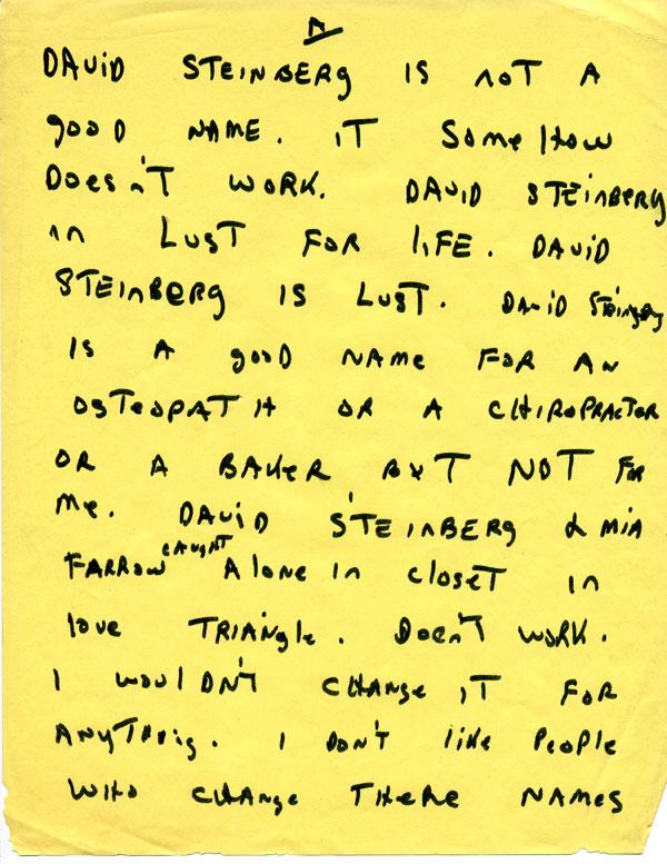 David's sketch notes