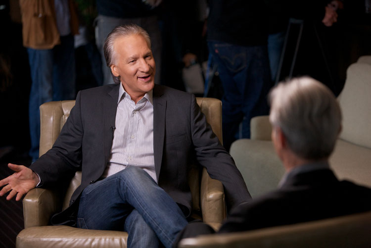 David Steinberg with Bill Maher