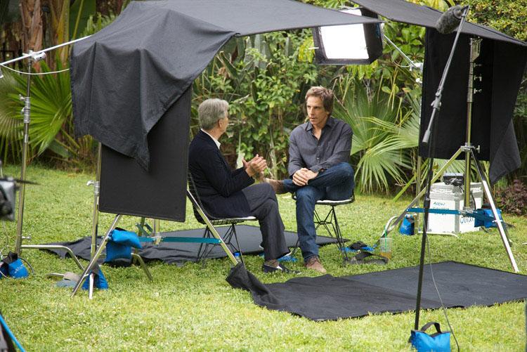 David Steinberg with Ben Stiller