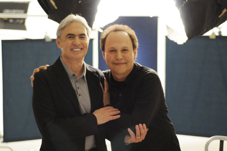 David Steinberg with Billy Crystal
