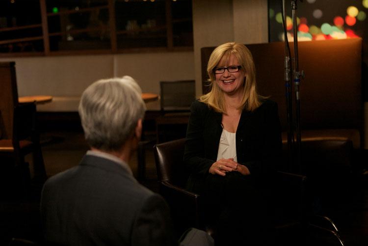 David Steinberg with Bonnie Hunt