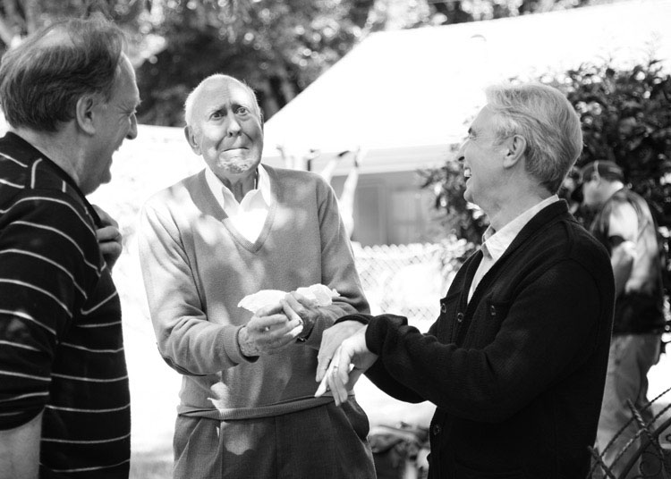David Steinberg with Carl Reiner and Alan Zweibel