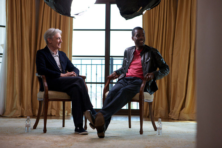 David Steinberg with Chris Rock
