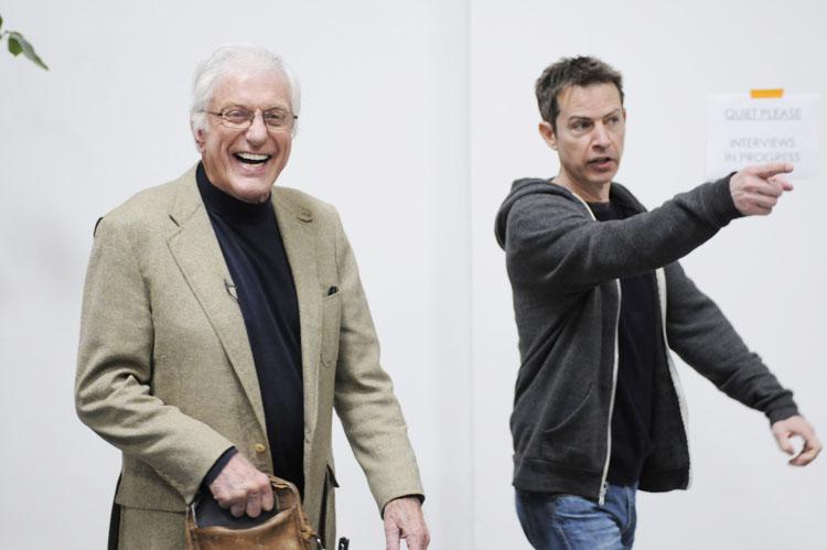 David Steinberg with Dick Van Dyke