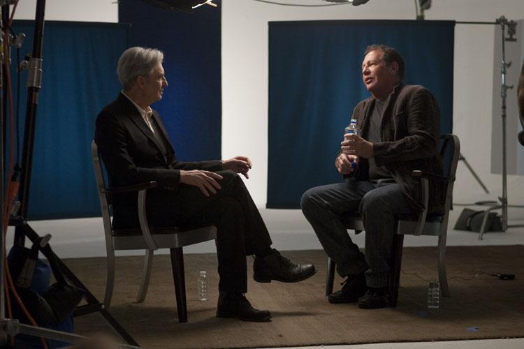 David Steinberg with Gary Shandling