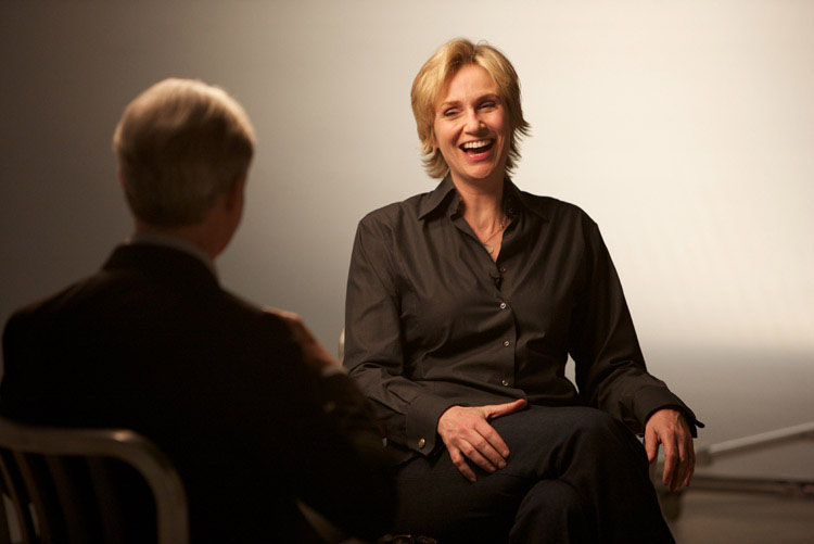 David Steinberg with Jane Lynch