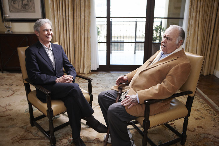 Davis Steinberg with Jonathan Winters