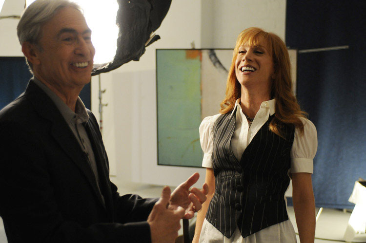 David Steinberg with Kathy Griffin