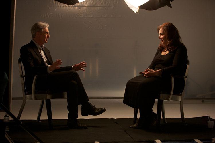 David Steinberg with Kathy Najimy
