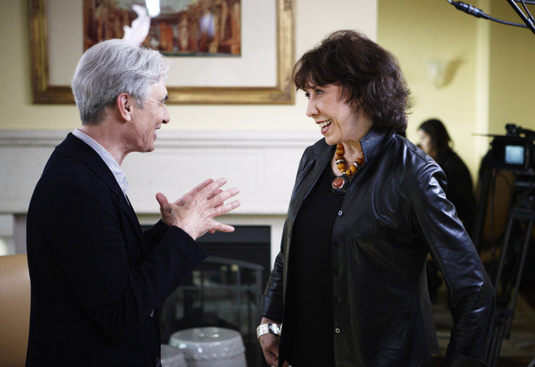 David Steinberg with Lily Tomlin