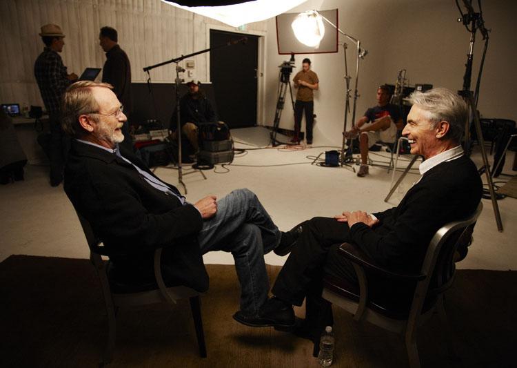 David Steinberg with Martin Mull