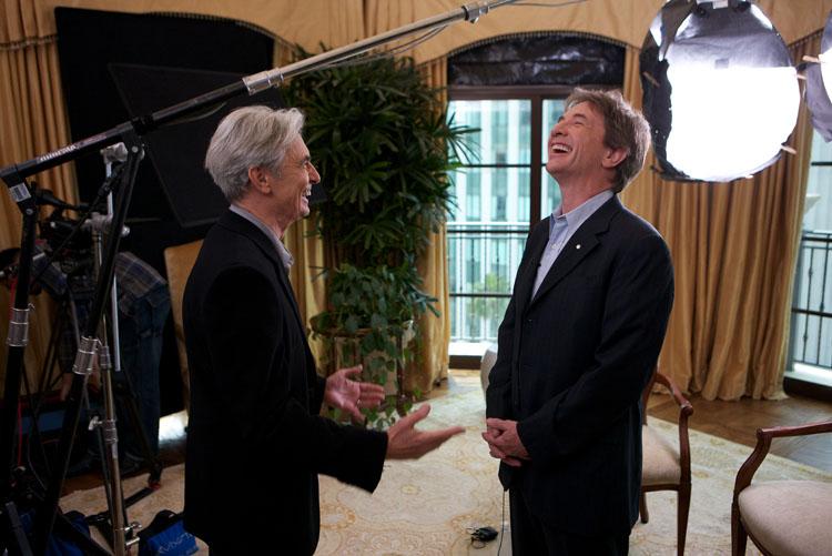 David Steinberg with Martin Short