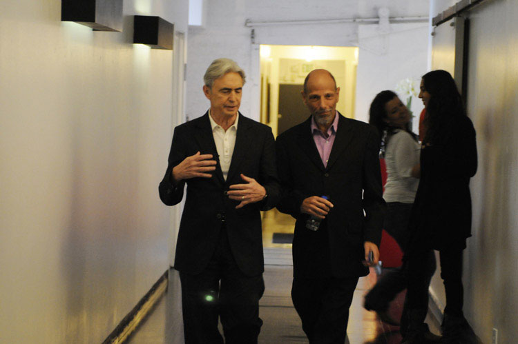 David Steinberg with Robert Schimmel