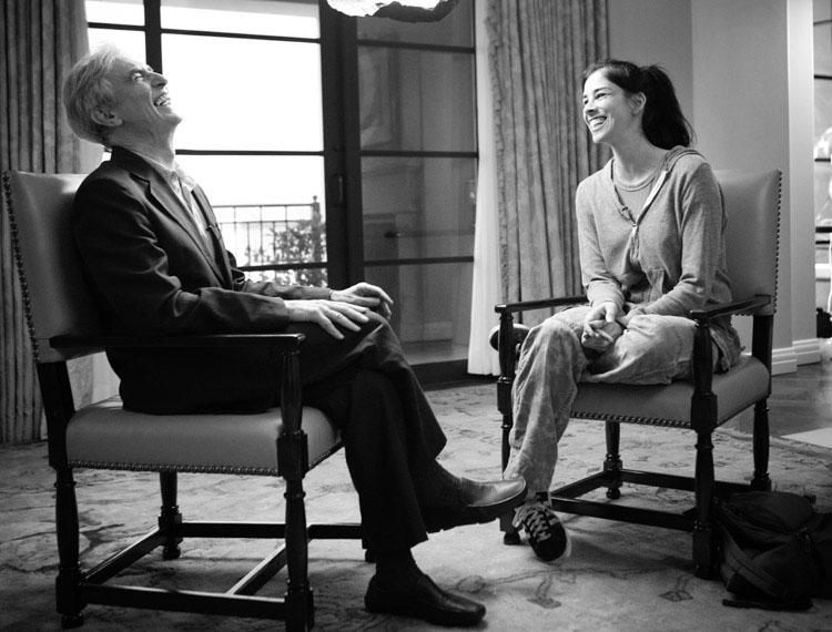 David Steinberg with Sarah Silverman