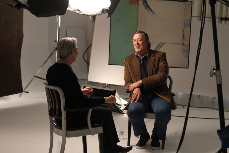 David Steinberg with Stephen Fry