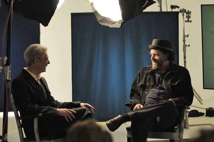 David Steinberg with Steven Wright