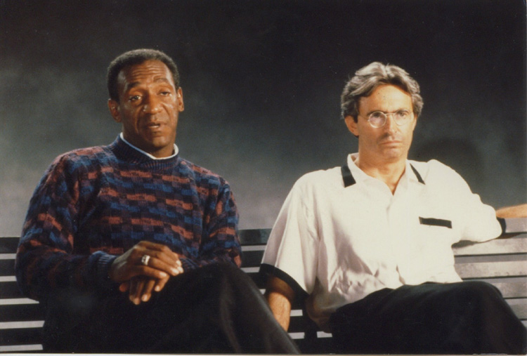 David Steinberg directs Bill Cosby for Jell-O commercial