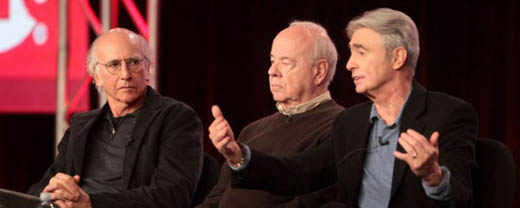 David Steinberg, Tim Conway and Larry David on Showtime