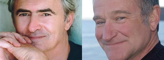 David Steinberg and Robin Williams