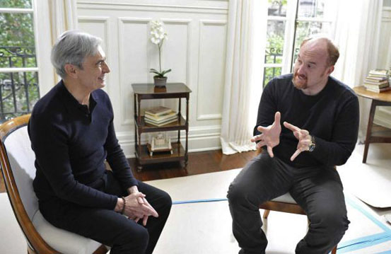 David Steinberg with Louis CK