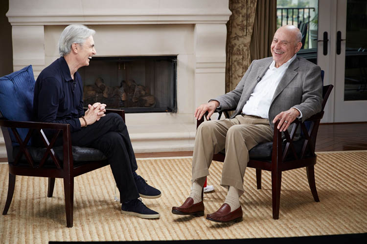 Alan Arkin appears on Inside Comedy with David Steinberg
