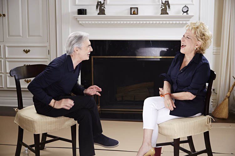 Bette Midler on Showtime's Inside Comedy with David Steinberg