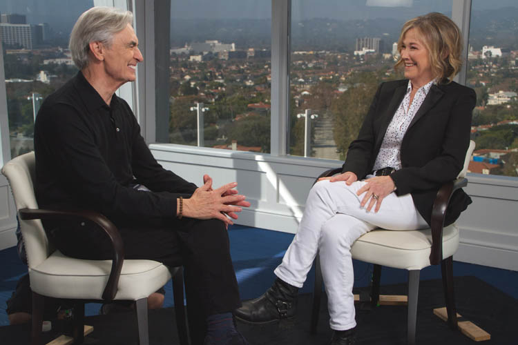 David Steinberg with Catharine O'Hara on Showtime's Inside Comedy
