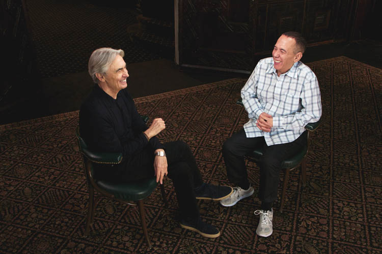 David Steinberg and Gilbert Gottfried on Inside Comedy