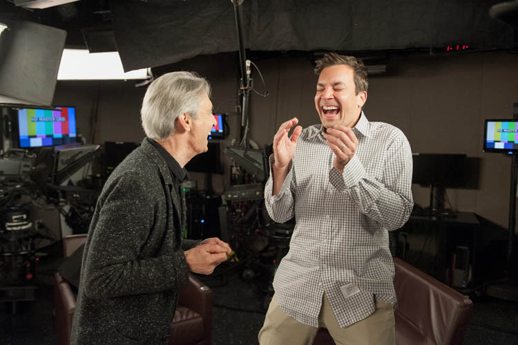 David Steinberg with Jimmy Fallon on Showtime's Inside Comedy