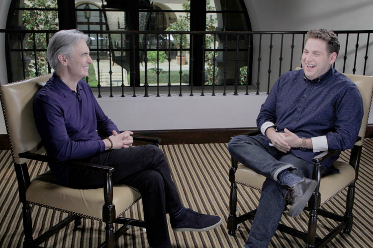 David Steinberg with Jonah Hill on Inside Comedy