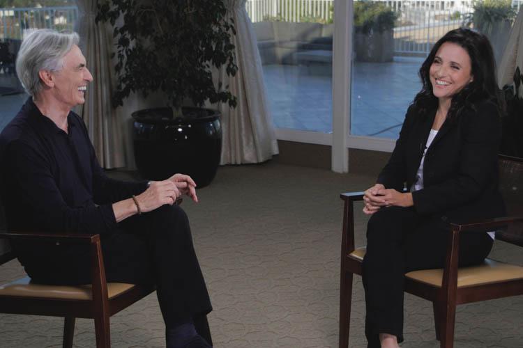 David Steinberg talks with Julia Louis Dreyfus