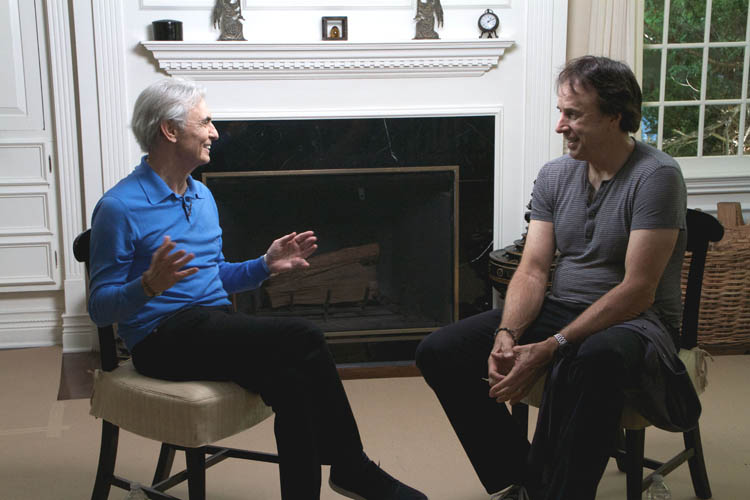 David Steinberg with Kevin Nealon on Inside Comedy