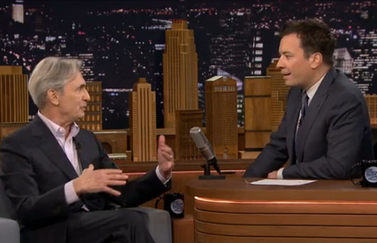 David Steinberg appears on Jimmy Fallon's Tonight Show