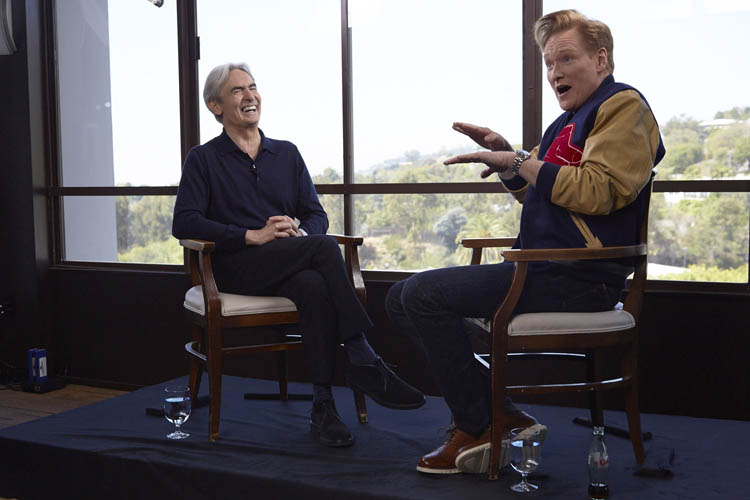 David Steinberg with Conan O'Brien on Showtime's Inside Comedy