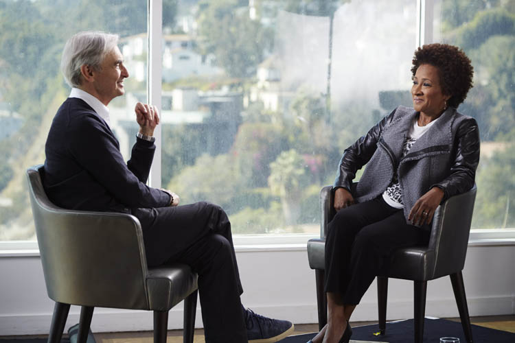 David Steinberg with Wanda Sykes on Showtime's Inside Comedy
