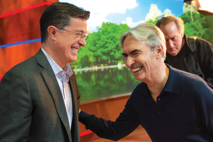 Stephen Colbert reminisces with David Steinberg about his days with SCTV